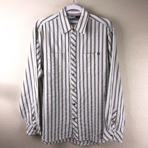 OP Long Sleeve Snap Button Shirt